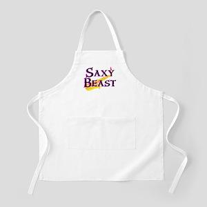 Saxy Beast Saxaphone BBQ Apron