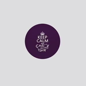 Keep Calm and Deny Everything Mini Button