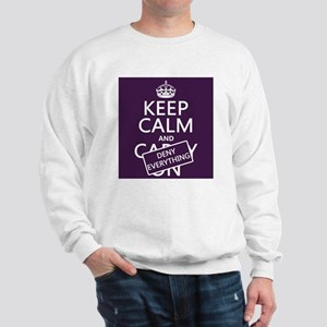 Keep Calm and Deny Everything Jumper