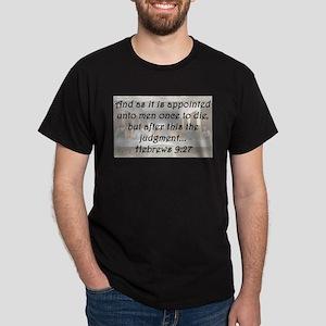 Hebrews 9:27 T-Shirt