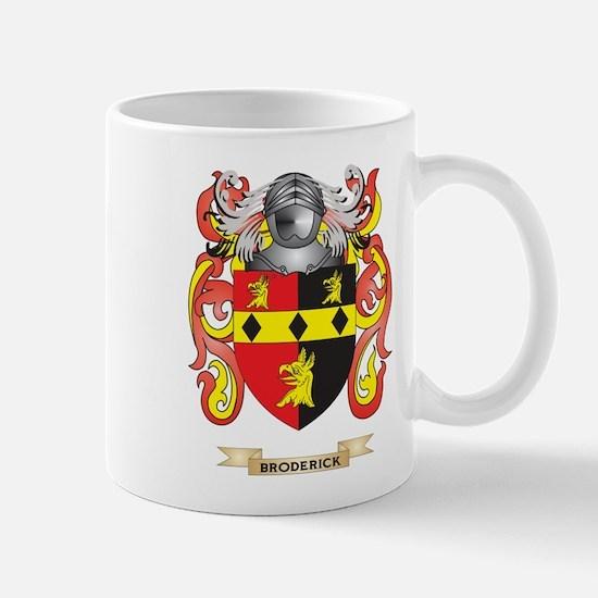 Broderick Coat of Arms Mug