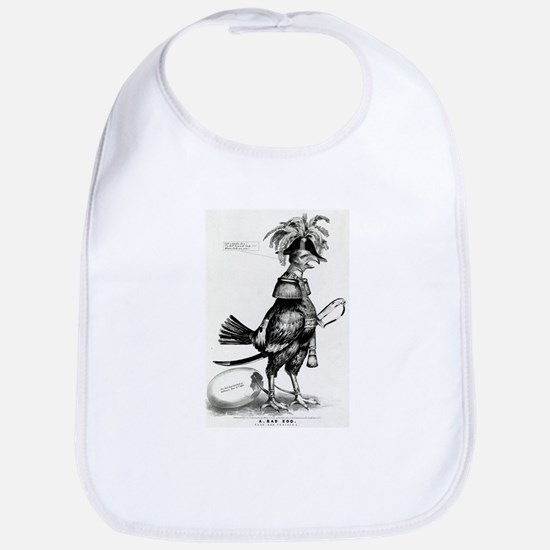 A bad egg. Fuss and feathers - 1852 Cotton Baby Bi