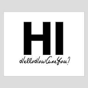 HiHelloHowAreYou Posters