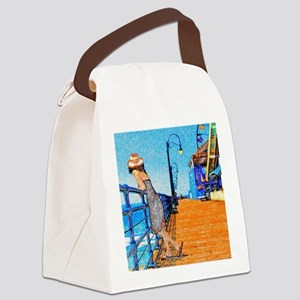 Santa Monica Breeze Canvas Lunch Bag
