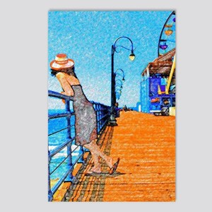 Santa Monica Breeze Postcards (Package of 8)