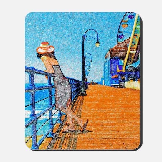 Santa Monica Breeze Mousepad