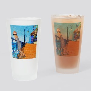 Santa Monica Breeze Drinking Glass