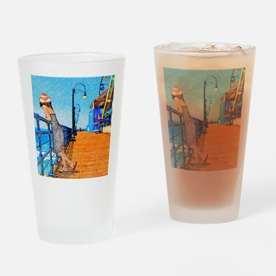 Santa Monica Breeze Drinking Glass