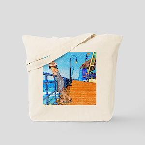 Santa Monica Breeze Tote Bag