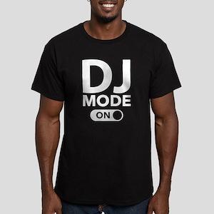 DJ Mode On Men's Fitted T-Shirt (dark)
