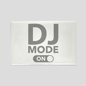 DJ Mode On Rectangle Magnet