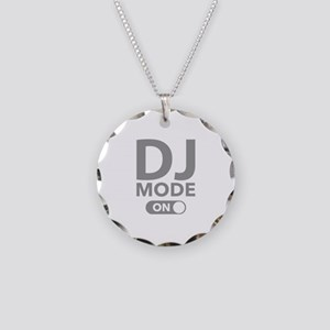 DJ Mode On Necklace Circle Charm