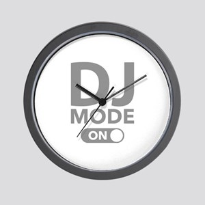 DJ Mode On Wall Clock