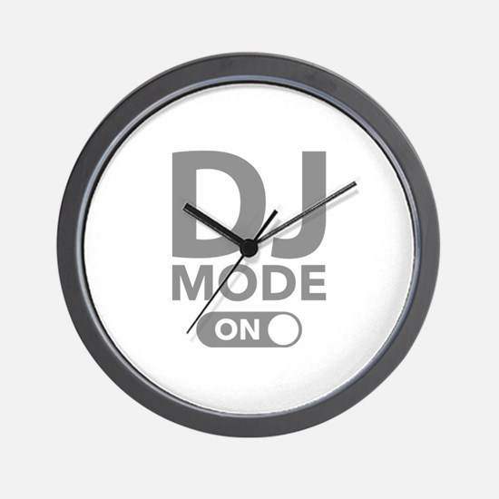 DJ Mode On Wall Clock