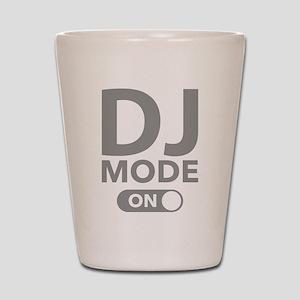 DJ Mode On Shot Glass