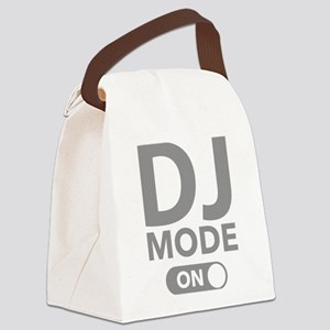 DJ Mode On Canvas Lunch Bag
