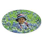 Photo Oval Sticker