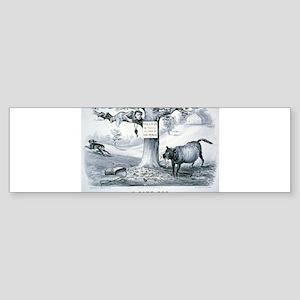 A game dog - 1879 Sticker (Bumper)