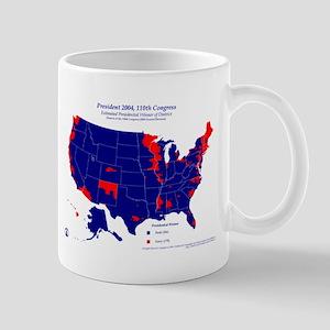 President by CD-110th Congress Mug-Blue