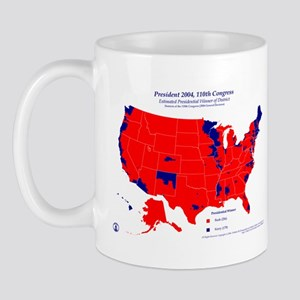 President by CD-110th Congress Mug-Red