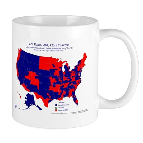 U.S. House, 110th Congress Mug-Blue