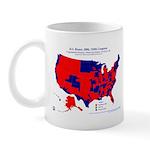 U.S. House, 110th Congress Mug-Red