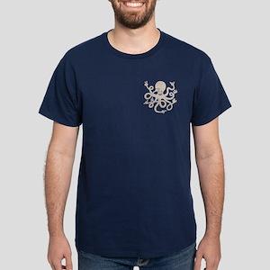 Handy Octopus Dark T-Shirt