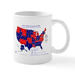 Governors Control, 2005 State Map Mug-Blue
