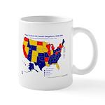 U.S. Senate Delegations, 2005 Mug-Blue