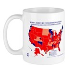 President by CD by Cong. Party Mug-Red