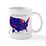 President by CD-109th Congress Mug-Blue