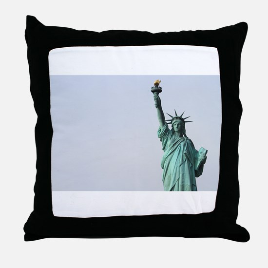 Unique Times square Throw Pillow