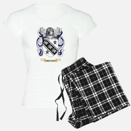 Brown Coat of Arms Pajamas