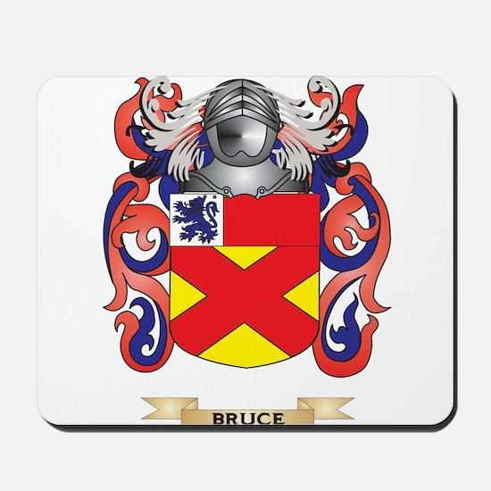 Bruce Coat Of Arms Mousepad