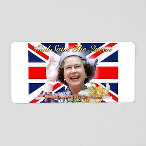 Queen Elizabeth Diamond Jubilee Aluminum Licen