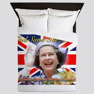 Queen Elizabeth Diamond Jubilee Queen Duvet