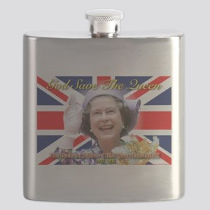 Queen Elizabeth Diamond Jubilee Flask