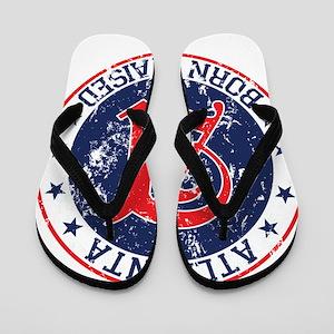 60317188d41c Born Atlanta Flip Flops - CafePress