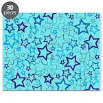 Blue Stars Puzzle