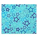 Blue Stars King Duvet