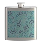 Blue Stars Flask