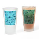 Blue Stars Drinking Glass