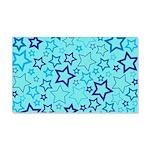 Blue Stars Wall Sticker