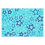 Blue Stars Poster Art
