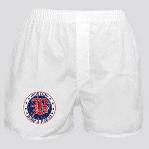 Boston born and raised red Boxer Shorts