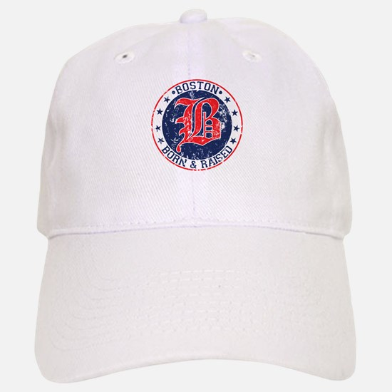 Boston born and raised red Baseball Baseball Baseball Cap