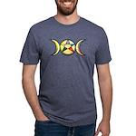 Pentacle Triplemoon 72917 Mens Tri-blend T-Shirt