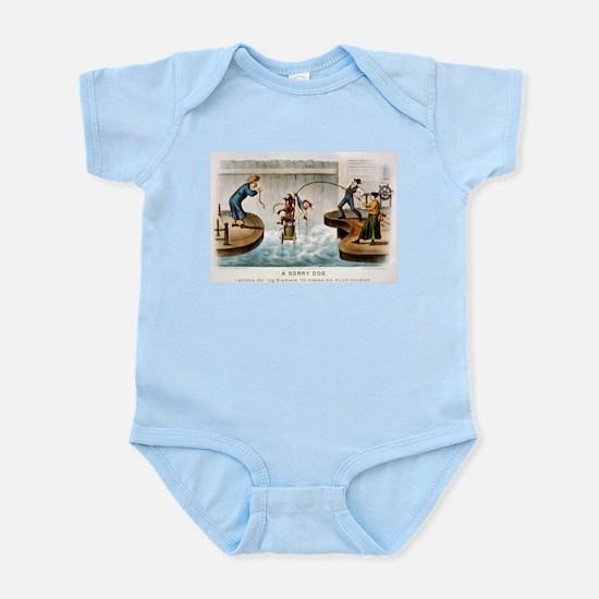 A sorry dog - 1888 Infant Bodysuit