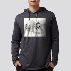 Angel footsteps - 1878 Mens Hooded Shirt