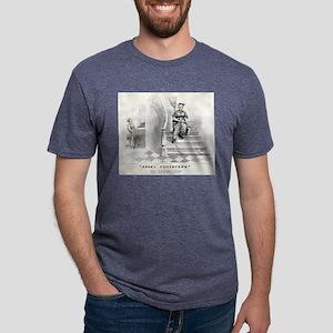 Angel footsteps - 1878 Mens Tri-blend T-Shirt